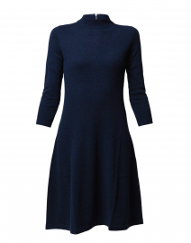 ccd35f77342461 ... look Kinross Navy Cashmere Sweater Dress $495 More colors available ...