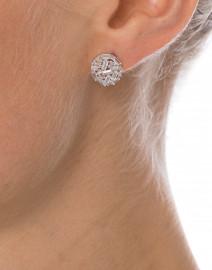 Monarch Crystal Micro Baguette Stud Earrings
