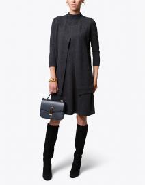 Charcoal Grey Cashmere Vest