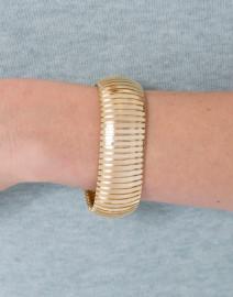 Flexible Gold Cobra Bracelet