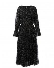 355dc897c ... look Emporio Armani Black and White Polka Dot Pleated Maxi Dress $575  ...