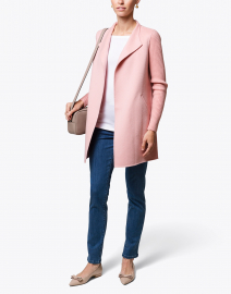 Pink Wool Cashmere Coat