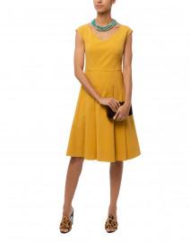 Yellow Linen Cotton Dress