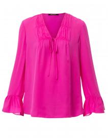 27502209fa9a82 Shia Pale Pink Silk Blouse | Kobi Halperin | Halsbrook