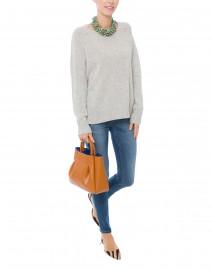 Light Grey Cashmere Sweater