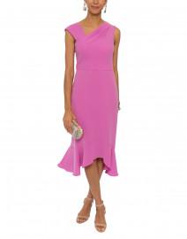 Adali Pink Stretch Crepe Dress