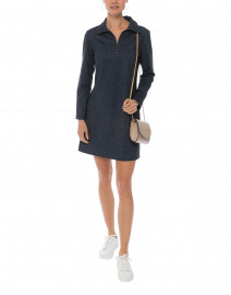Deidre Navy Stretch Denim Dress