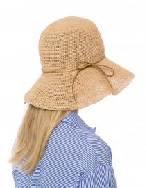 Gold Ribbon Packable Traveler Hat
