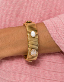 Strada Pink and Mother of Pearl Medium Bracelet