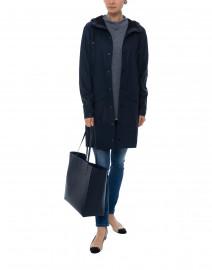 Navy Waterproof Raincoat