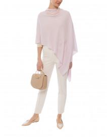 Pale Pink Cashmere Ruana