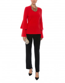 Red Wool Cashmere Sweater