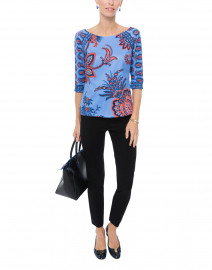 Blue Queenie Printed Top
