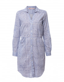 492c0266c07 ... look Ro s Garden Ava Blue Chevron Cotton Shirt Dress  145 ...