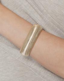 Wide Cobra Bracelet