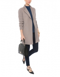 Doeskin Double-Faced Cashmere and Wool Coat