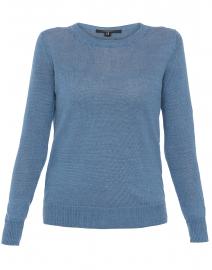 b49d3f9435ef Evelin Blue Linen Sweater