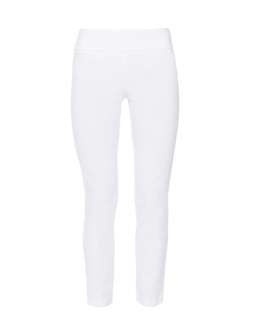 White Control Stretch Ankle Pant
