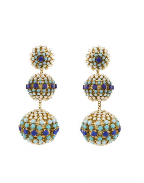 Mosaic Gumball Drop Earrings