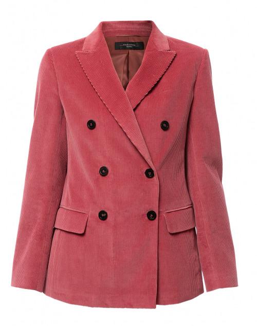 Ometto Pink Corduroy Blazer