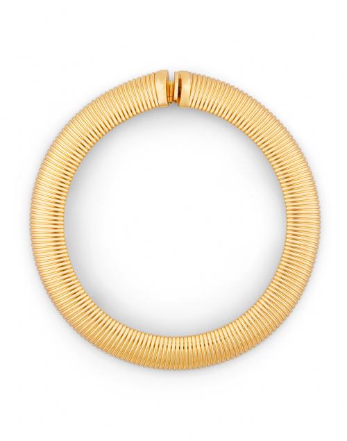 Aida Gold Cobra Collar Necklace
