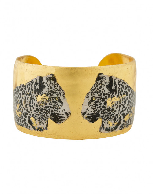 Two Leopards Black and White Cuff