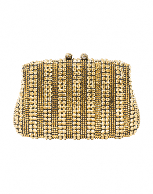 Aurora Black and Gold Clutch