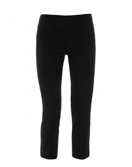 Black Cropped Control Stretch Pant
