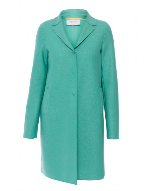 Mint Pressed Wool Coat