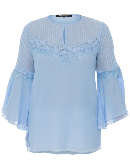 Jaya Pale Blue Cotton Blouse
