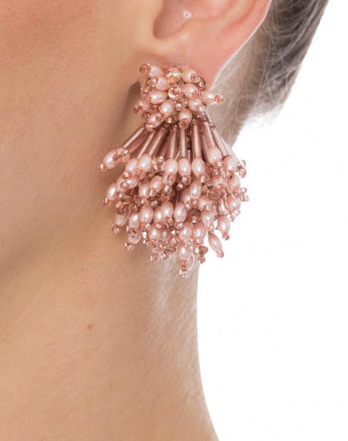 Blush Burst Earrings Mignonne Gavigan Halsbrook