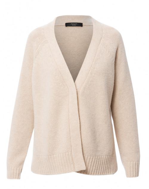 Calamai Sand Wool Cardigan