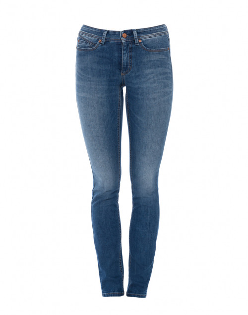 Parla Medium Wash Blue Stretch Denim Jean