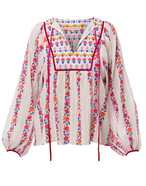 Talika Floral Printed Cotton Blouse