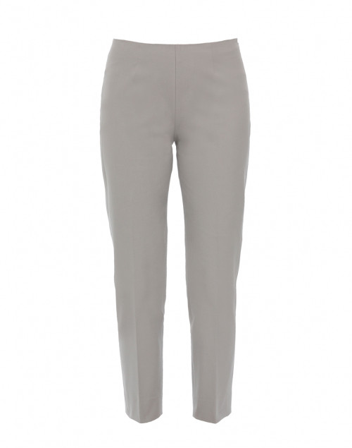 Monia Pale Grey Stretch Cotton Pant