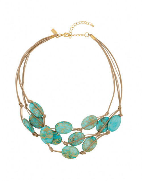Turquoise Aqua Terra Multi-Strand Necklace