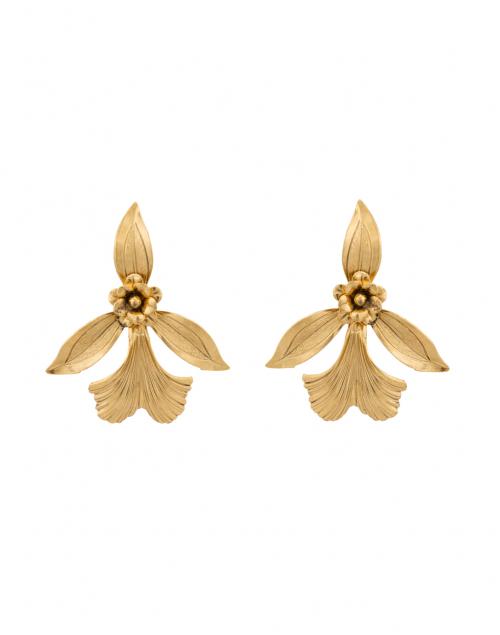 Orchid Stud Earrings