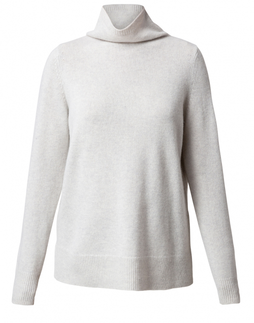 Ice Grey Cashmere Sweater