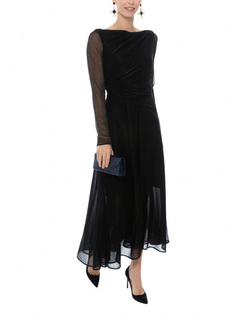 cded7375abc Quick look Talbot Runhof Black Metal Enwrought Voile Dress SOLD OUT