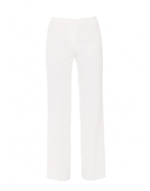 Sabrina Ivory Stretch Crepe Pant