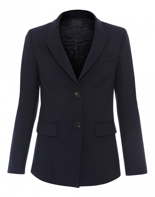 Navy Stretch Blazer
