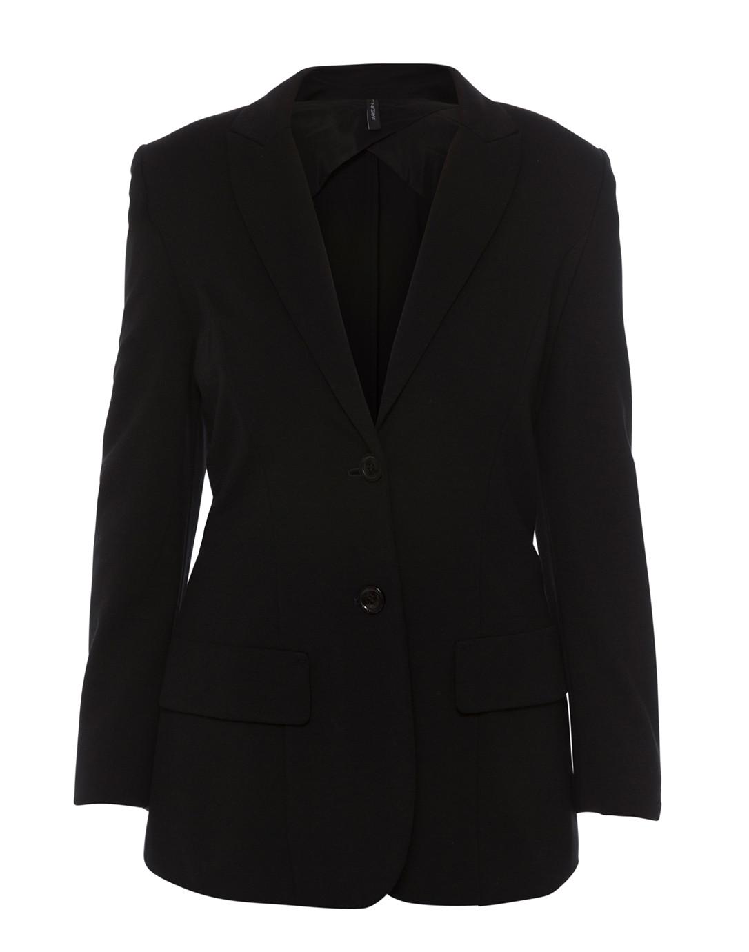 ff315b42 Black Jersey Knit Blazer