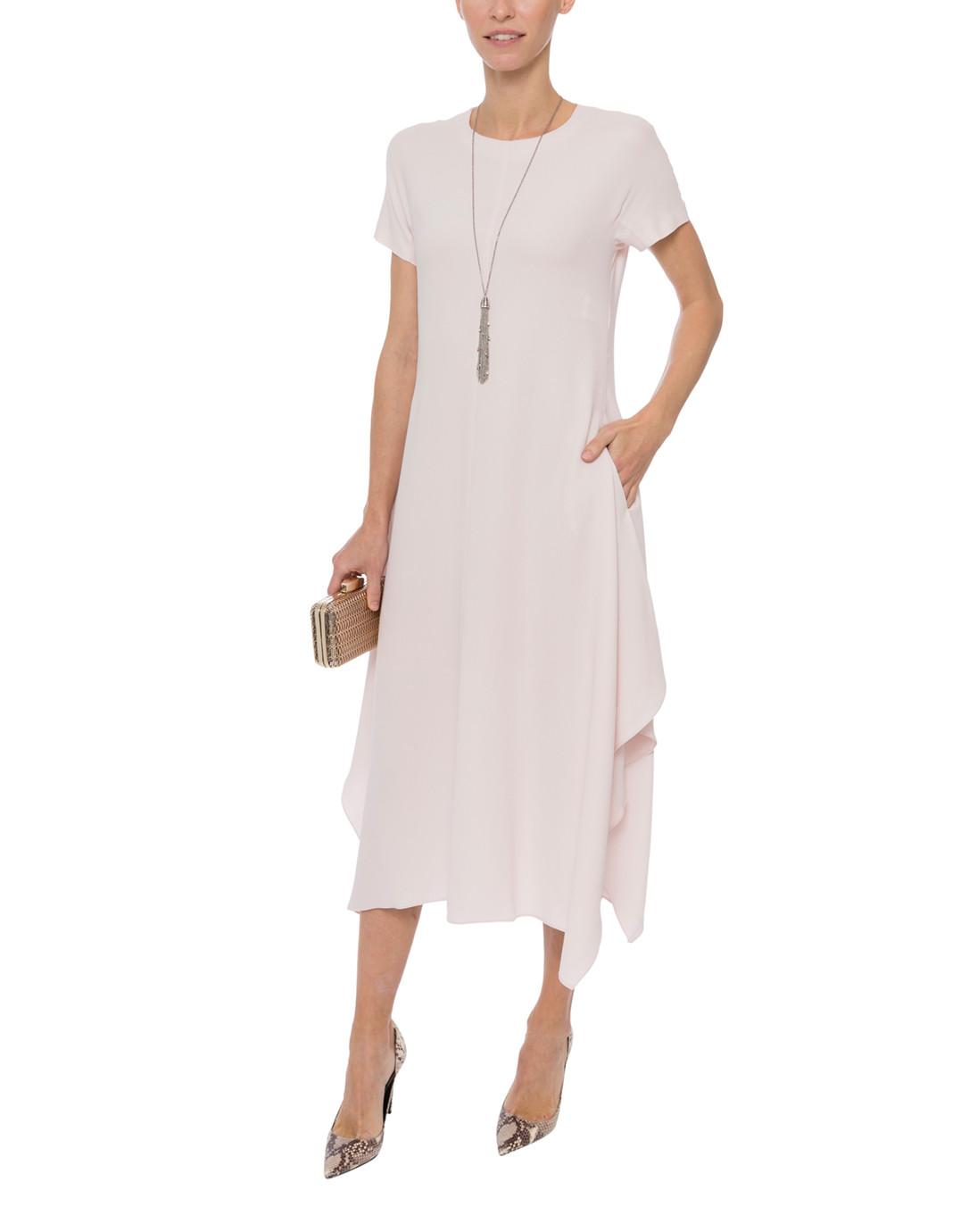 fb49e878349 Pale Pink Cady Dress