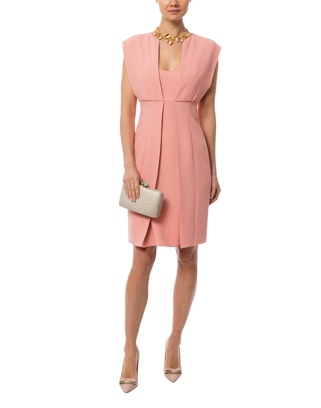5f1ca3a4f3 Blush Pink Pleat Front Cady Dress
