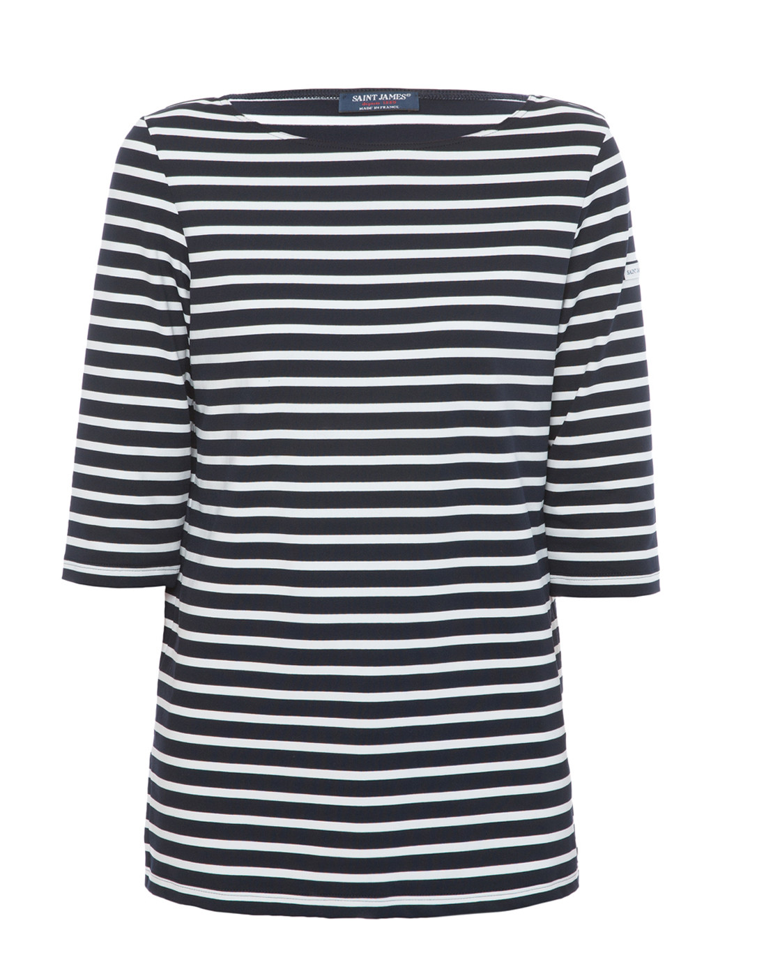 Phare navy and white striped shirt saint james halsbrook for St james striped shirt