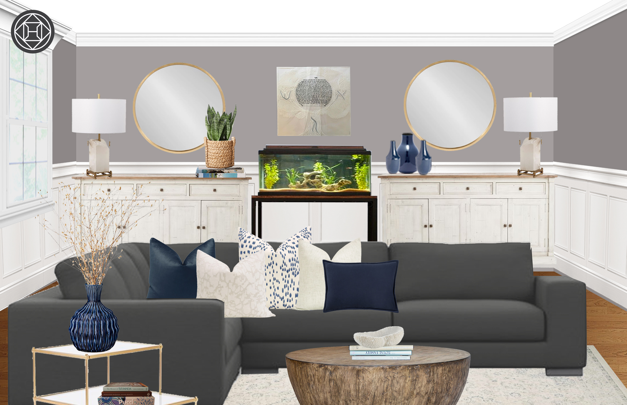 Modern Minimal Scandinavian Design By Havenly Interior