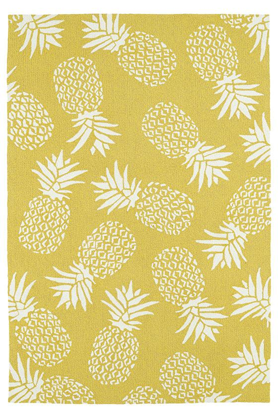 Pineapple Area Rug Home Decor