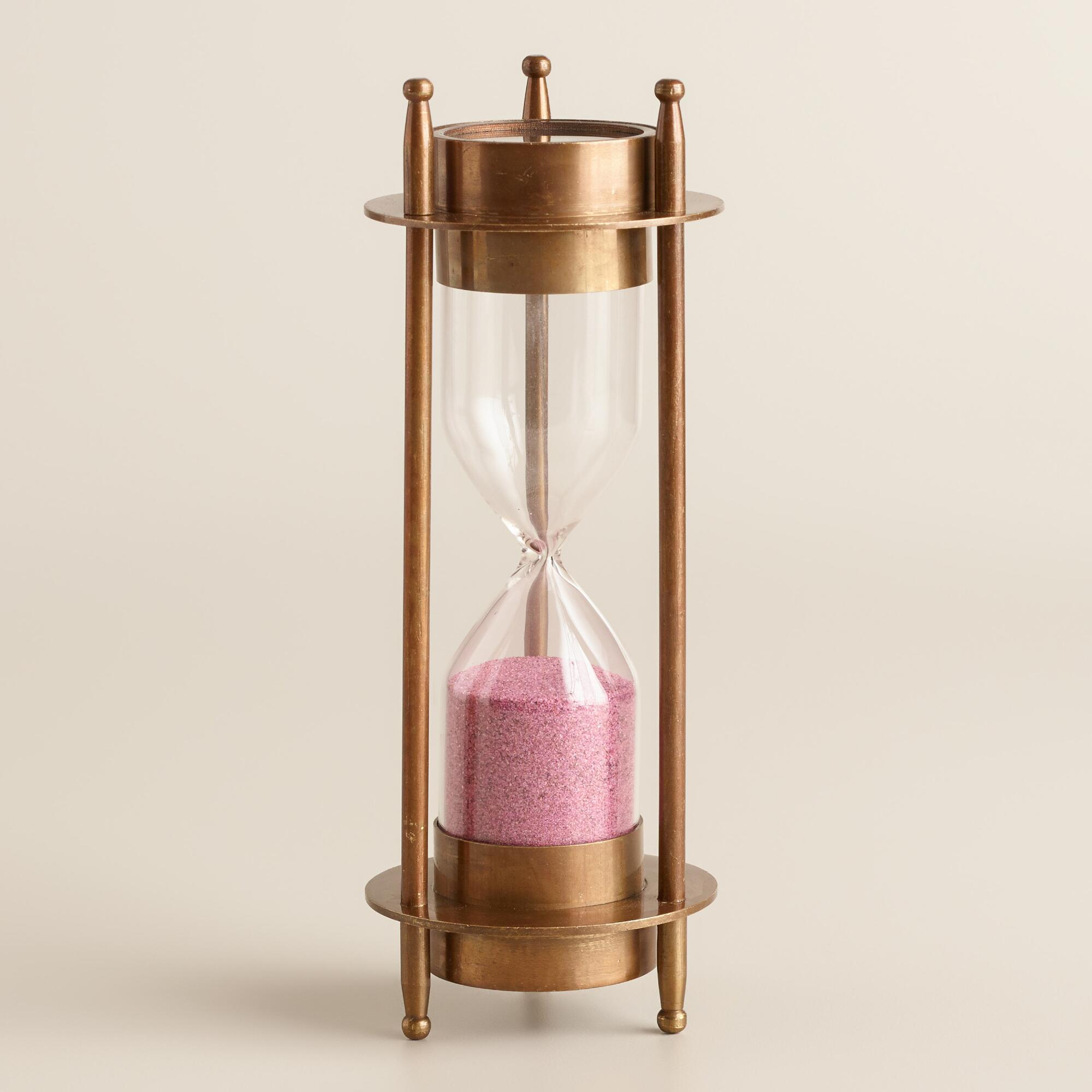 Sand Timer with Compass