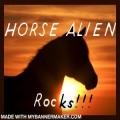 horse alien