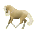 Riding unicorn Palomino